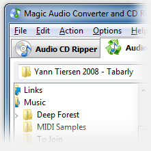 Magic Audio Converter and CD Ripper