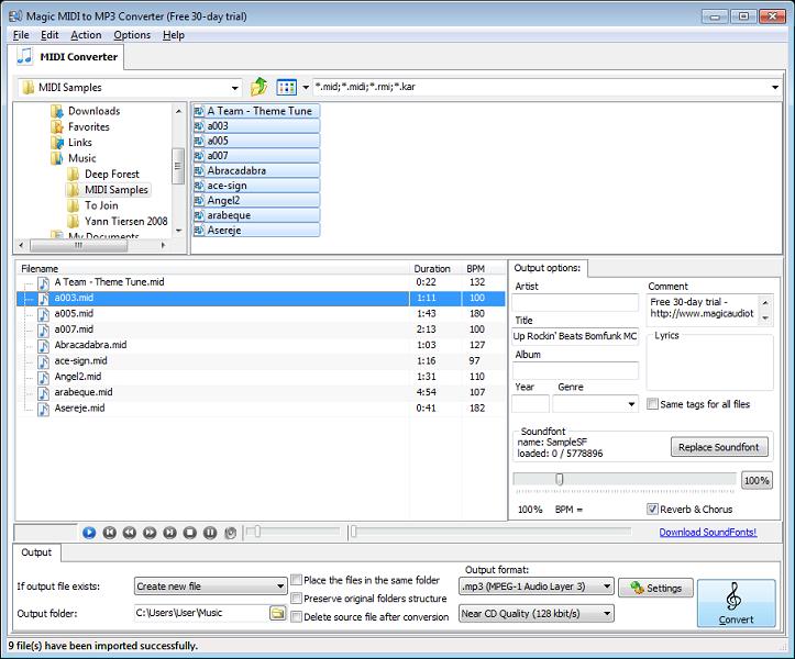 Midi To Mp3 Converter Convert Wav Free Online